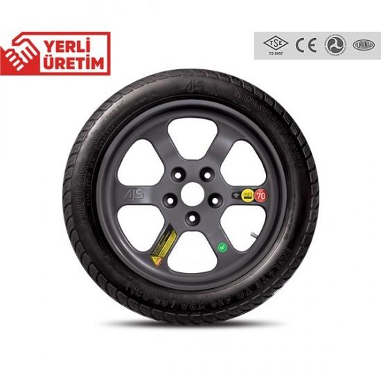 Mini Stepne Yedek Lastik 5x108